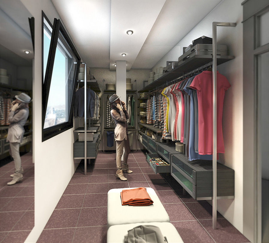vestidor 3d