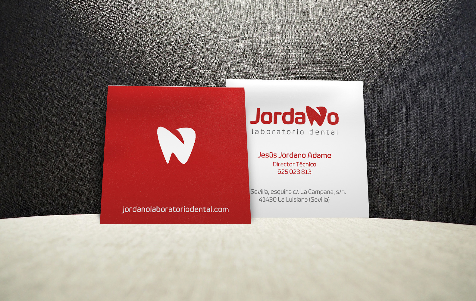 tarjetas jordano laboratorio dental