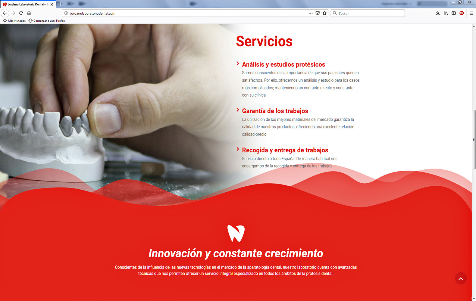 web2 jordano laboratorio dental