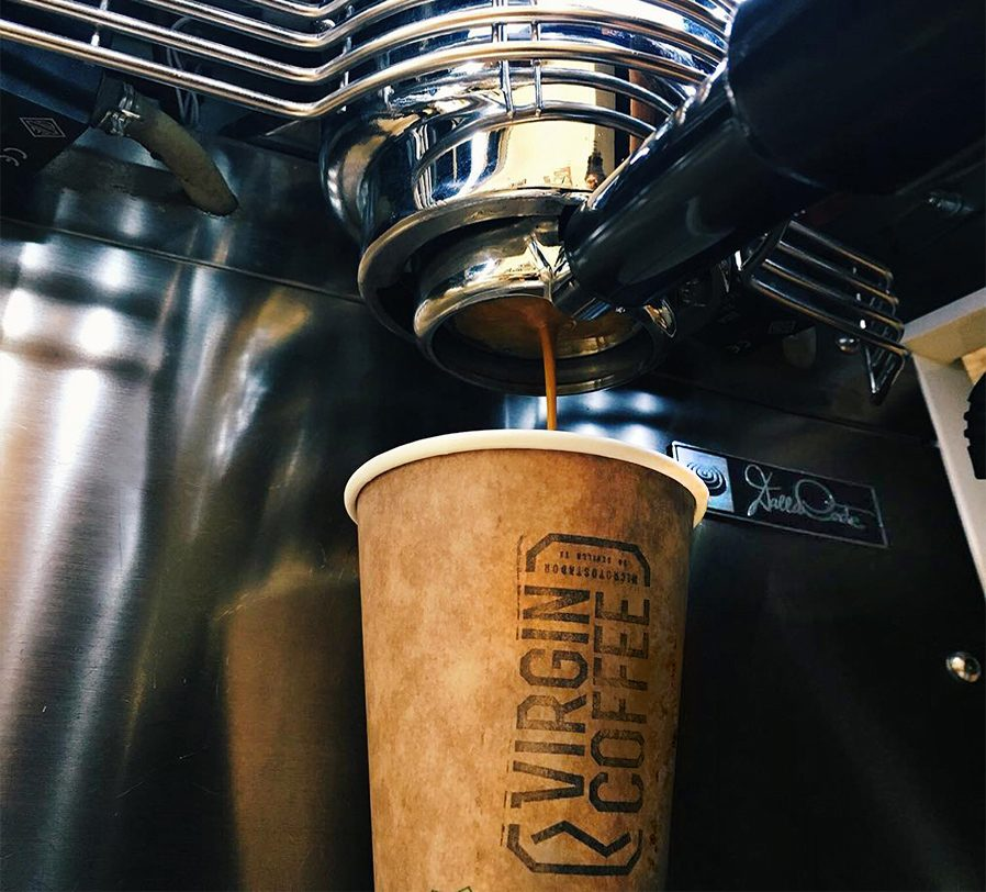 virgin coffee sevilla vaso